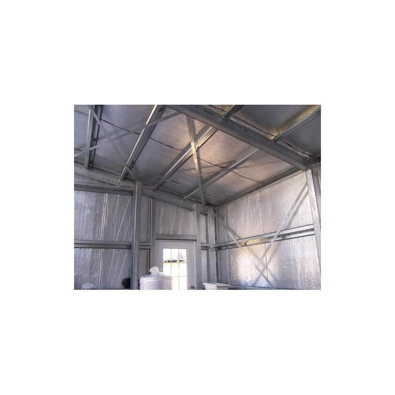 Polyethylene Insulation in a Room
